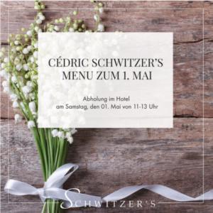4. Cédric Schwitzer's Menü zum 1. Mai